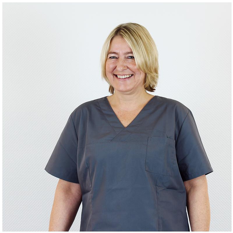 Claudia Becker, Anästhesie-und Hygienefachschwester