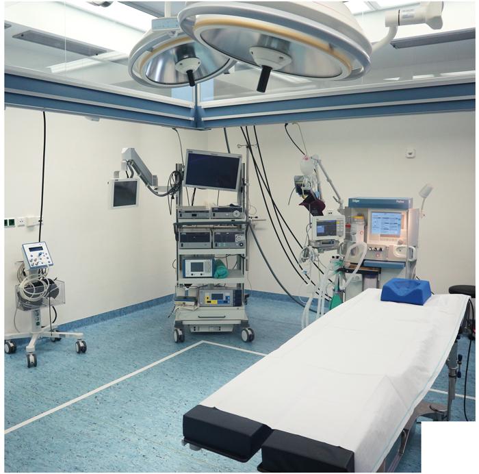Operations Saal Anästhesieteam Mittelrhein